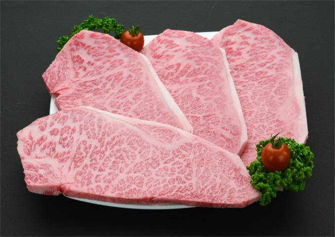 【ふるさと納税】D-036R 佐賀牛サーロインステーキ200g×4枚