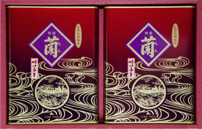 【ふるさと納税】A5-072R 佐賀県有明海産味付海苔詰合せ(RD2-500)