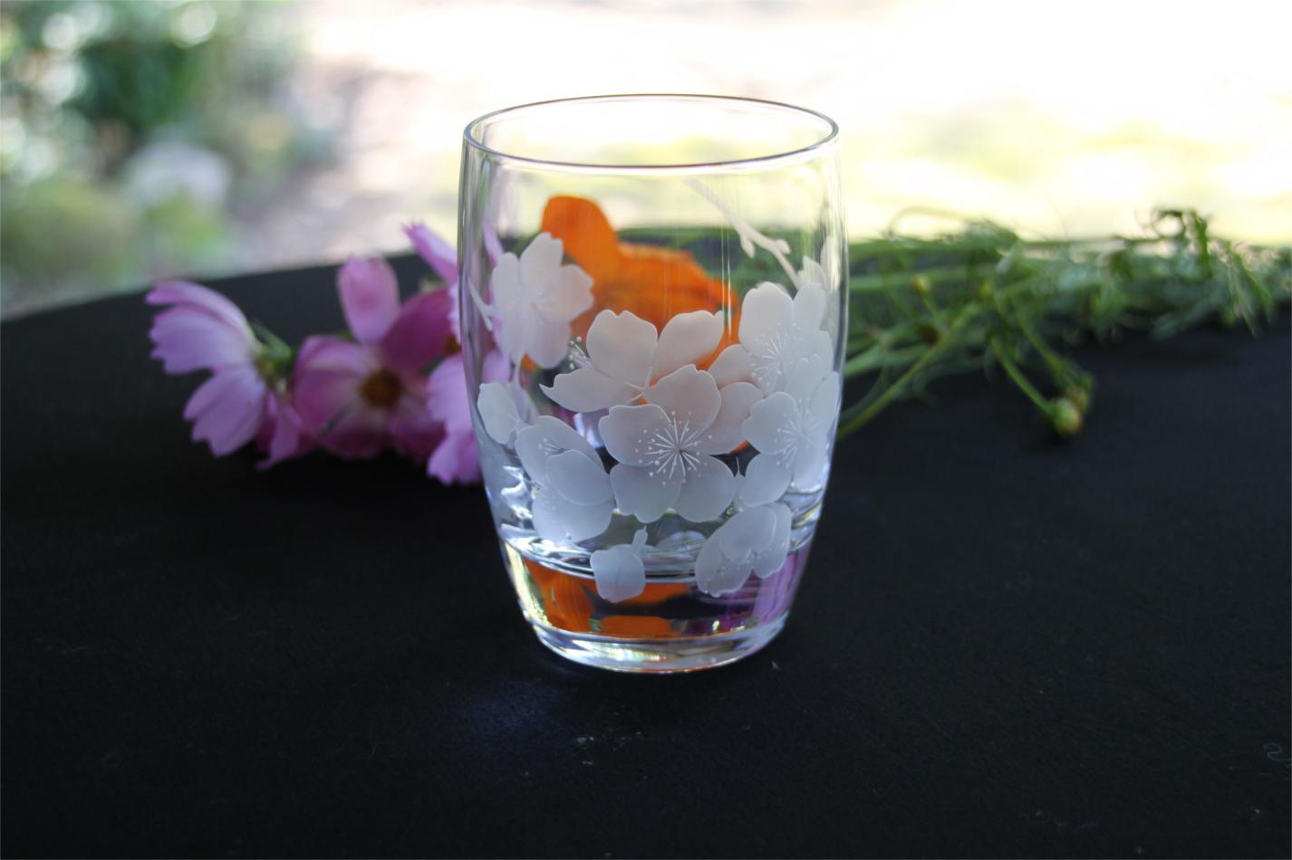 【ふるさと納税】B2-009R 桜乃夢(樽型オールドグラス)1個入り
