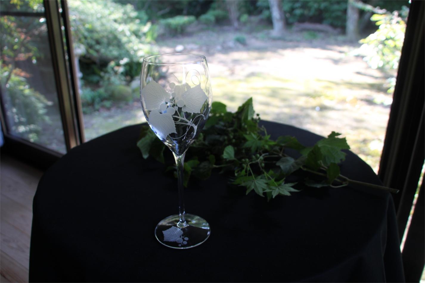 【ふるさと納税】B7-006R 山葡萄のワイングラス 1個入り
