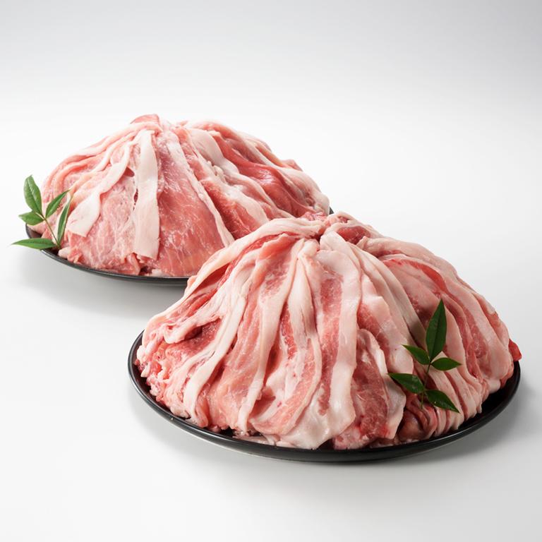 【ふるさと納税】厳選佐賀県産豚肉(モモ・ウデ) 切り落とし