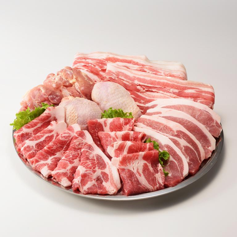 【ふるさと納税】佐賀県産豚肉1.6kgと若どりモモ肉1kg