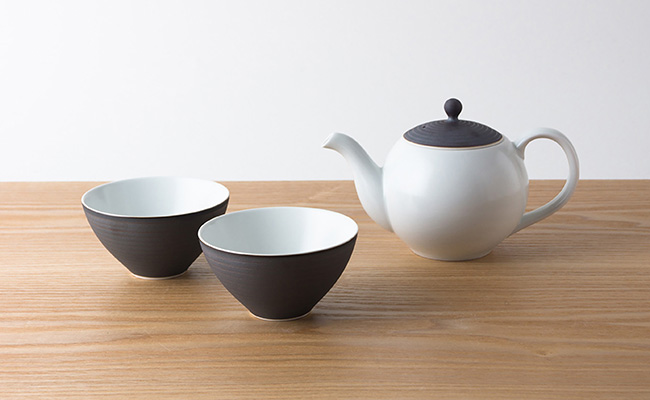 A30-3【ふるさと納税】KIHARA こだわりの茶葉ポット茶器 錆線紋