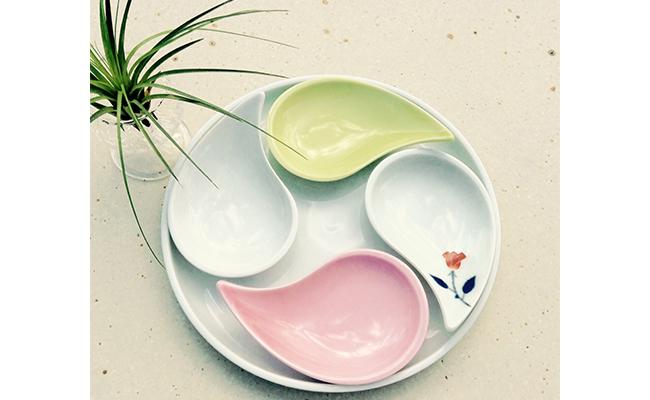 A20-83【ふるさと納税】まるぶん 有田焼 とても可愛い小皿&トレイ