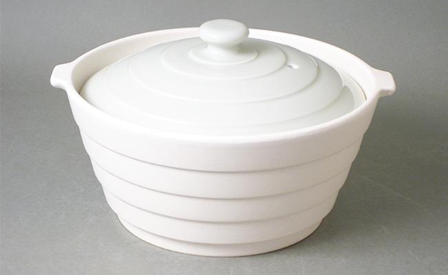 A20-86【ふるさと納税】有田焼 熱々のまま食卓へ「Only碗」(アイボリー)