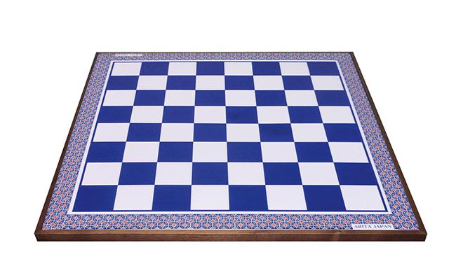 A1000-8【ふるさと納税】有田焼のチェス盤(瑠璃) 陶楽