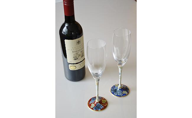 A70-2【ふるさと納税】有田浪漫グラス シャンパンフルート 東洋セラミックスオリジナル