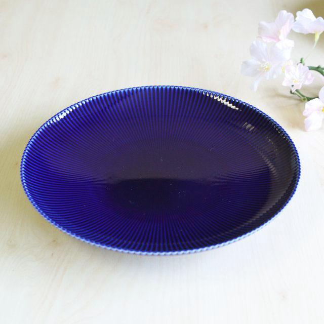 【ふるさと納税】KR20016R ピンストライプ(R)中皿 1枚