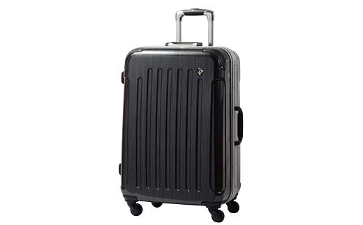 【ふるさと納税】PC7000スーツケース(Mサイズ・スクラッチガンメタ)