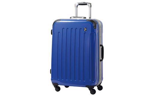 【ふるさと納税】PC7000スーツケース(Mサイズ・ジャックブルー)