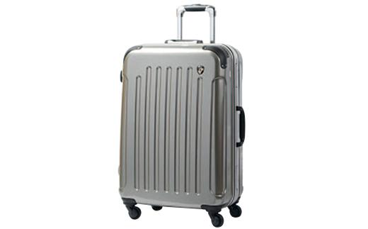 【ふるさと納税】PC7000スーツケース(MSサイズ・スクラッチシャンパン)