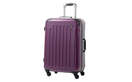 【ふるさと納税】PC7000スーツケース(MSサイズ・ジェムストーンパープル)