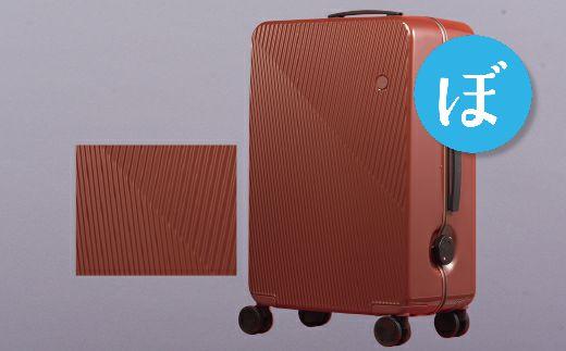 【ふるさと納税】スーツケース中型GINKGO(ファイヤーブリックストライプ)