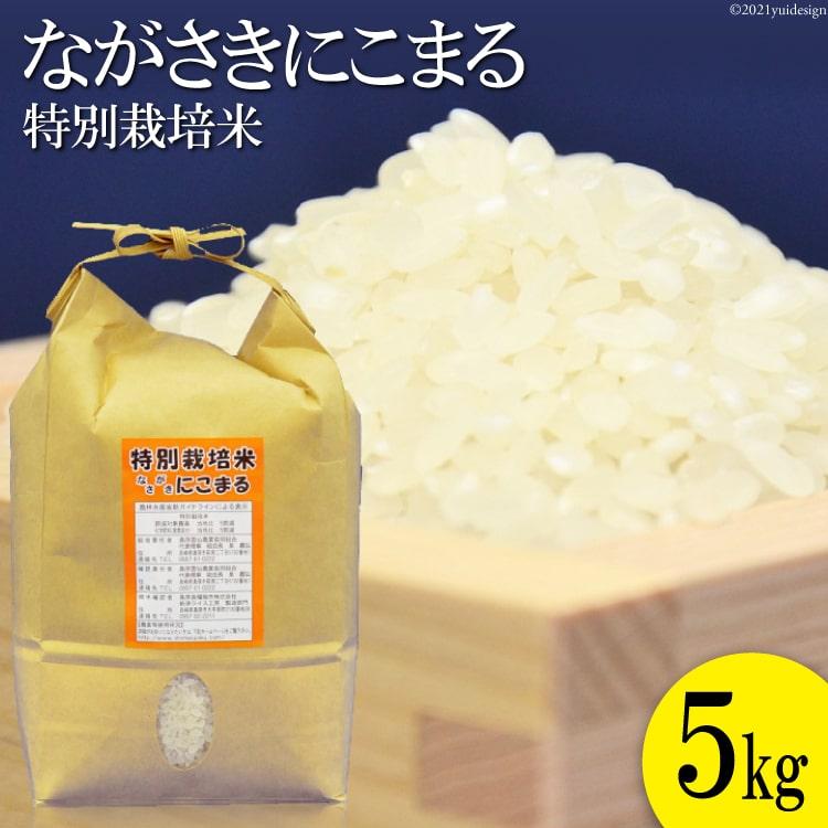 【ふるさと納税】≪特別栽培米≫ 豊かな水が育んだ ながさきにこまる 5kg