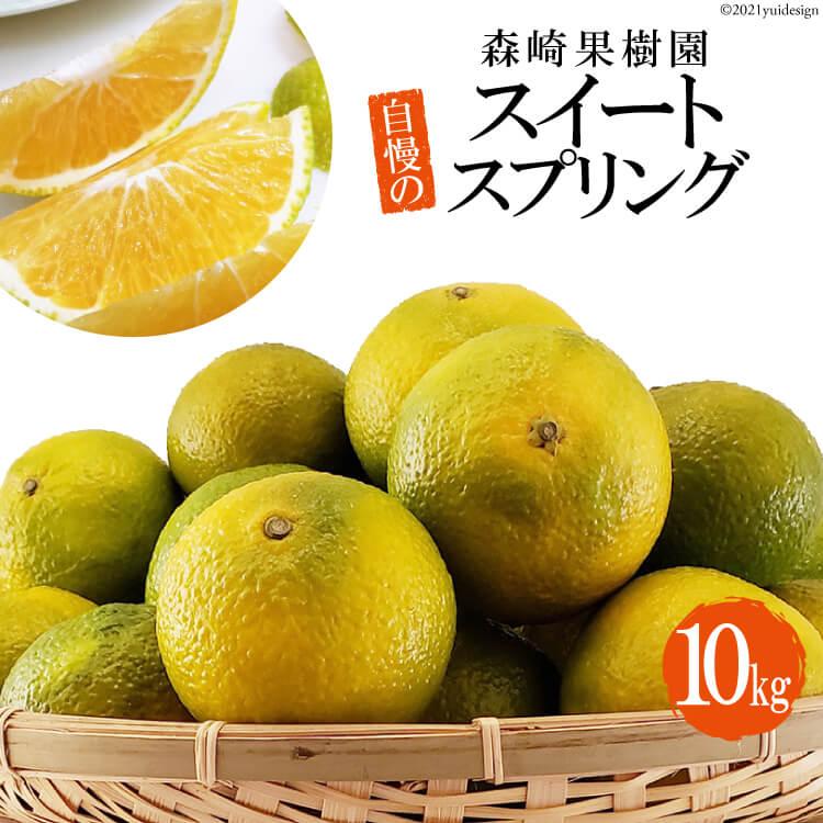 【ふるさと納税】森崎果樹園自慢のスイートスプリング(10kg)