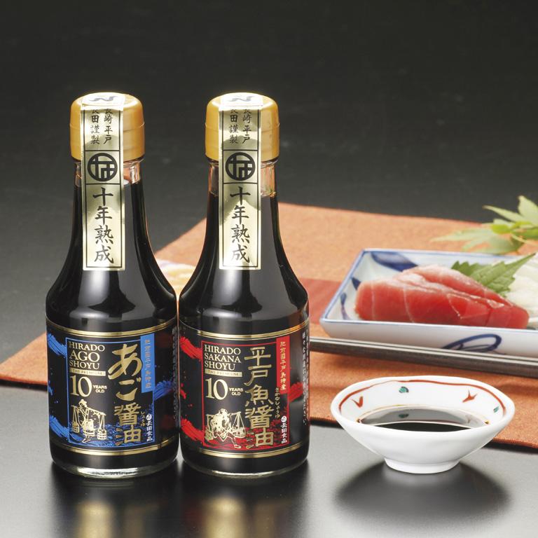 【ふるさと納税】プレミアム10年熟成魚醤油詰合せ