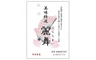 【ふるさと納税】【A7-013-02】令和元年度産米 麗舞(にこまる4.5kg)【2月発送】