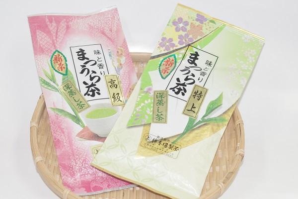 【ふるさと納税】【A7-008】松浦茶セット(特上100g×1 高級100g×1)