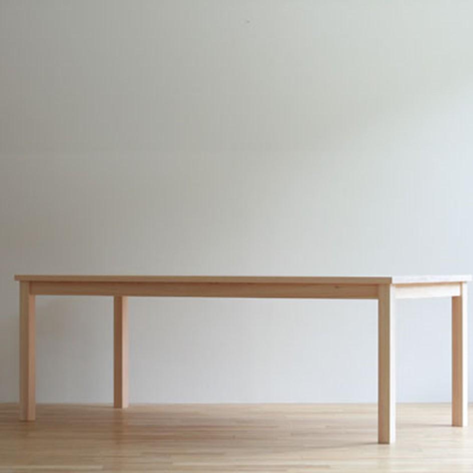 【ふるさと納税】G-007 対馬ヒノキのダイニングテーブル