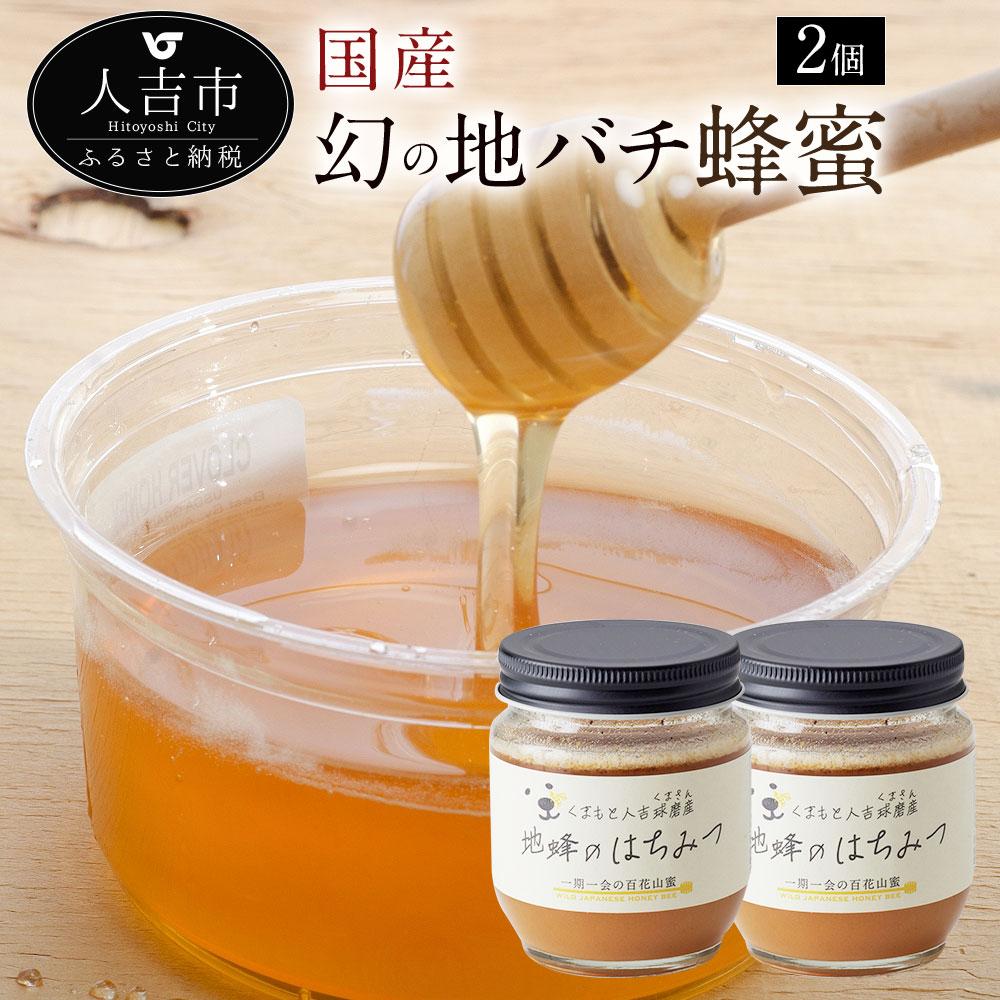 【ふるさと納税】人吉球磨産 幻の地バチの蜂蜜 200g×2個 国産 はちみつ ハチミツ 調味料 九州 熊本 送料無料
