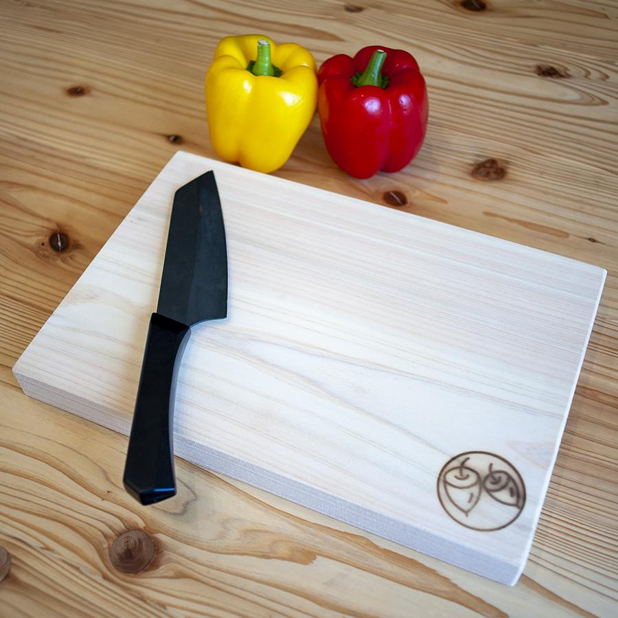 【ふるさと納税】木工職人手作り まな板(ヒノキ)