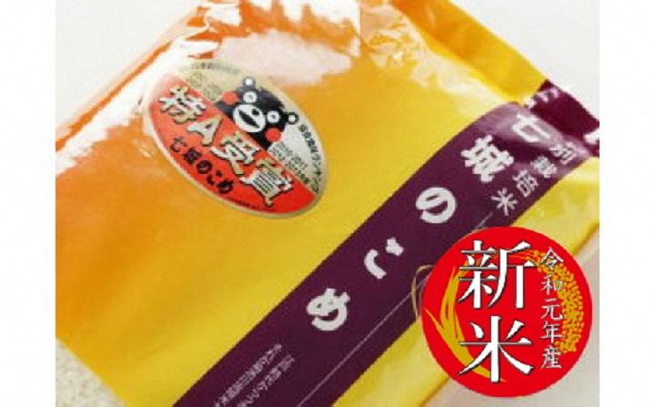 【ふるさと納税】C-65 七城のこめ 精米 10kg×1袋