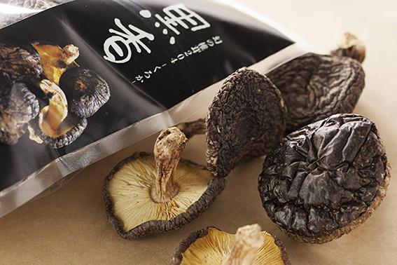 【ふるさと納税】E-14 幻の椎茸 黒香【希少品種の乾燥椎茸】 1kg