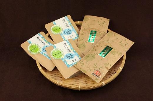 【ふるさと納税】B-31 斉藤製茶園 食べるお茶セットB