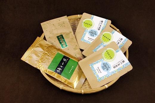 【ふるさと納税】C-53 斉藤製茶園 食べるお茶セットC
