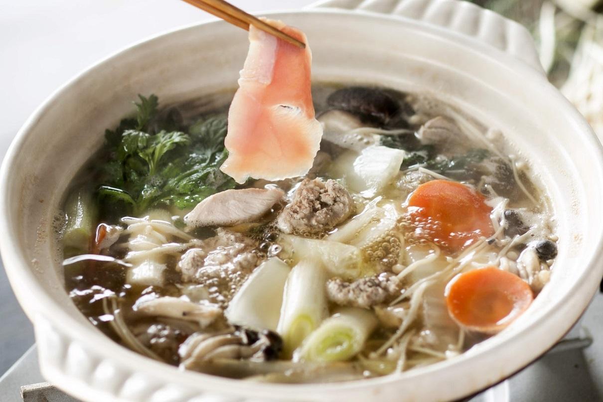 【ふるさと納税】きじ鍋セット きじ1羽、スープ付き 【きじの松田屋】
