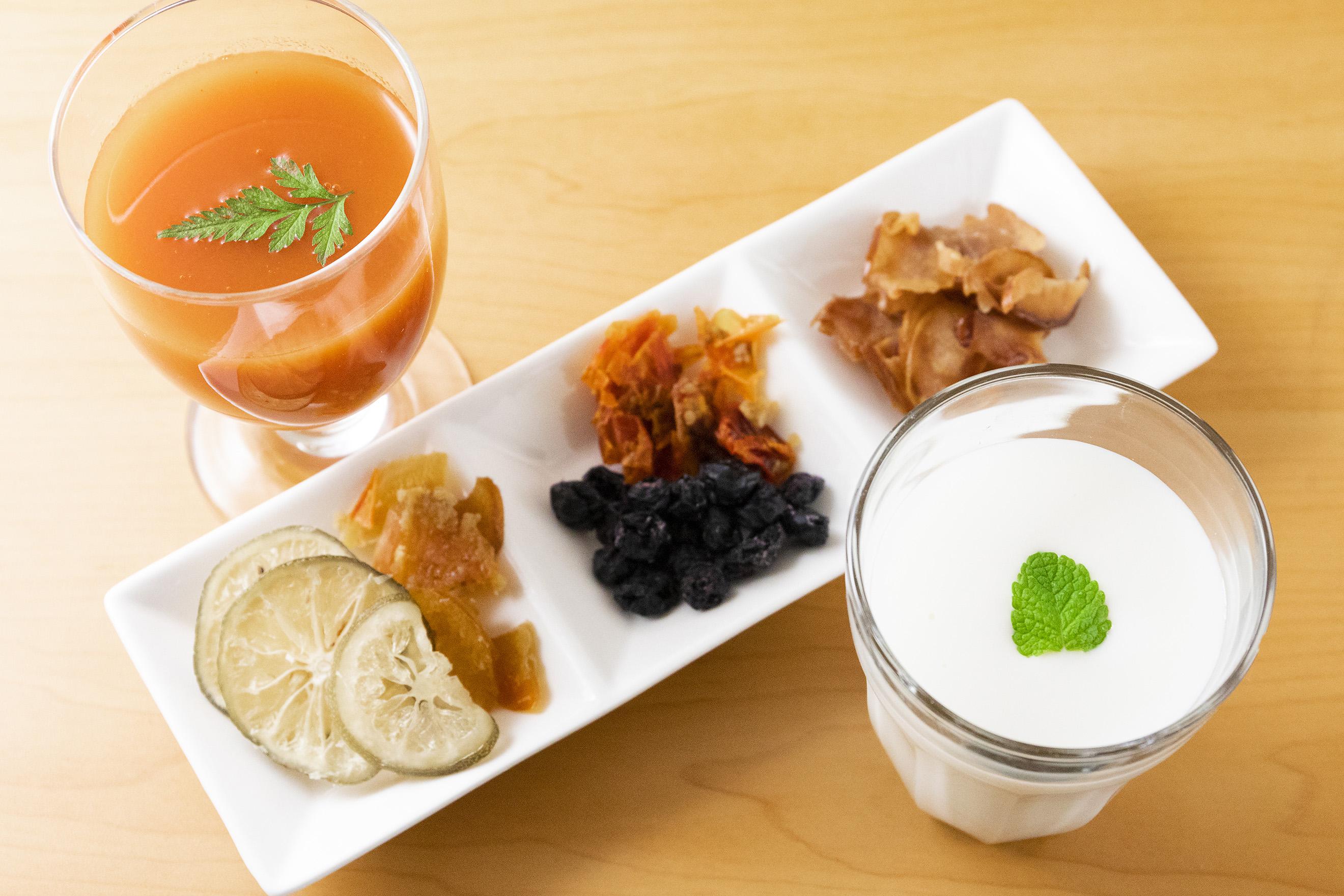 【ふるさと納税】免疫力アップセット(のむヨーグルト・トマトジュース・酵素ドライフルーツ)