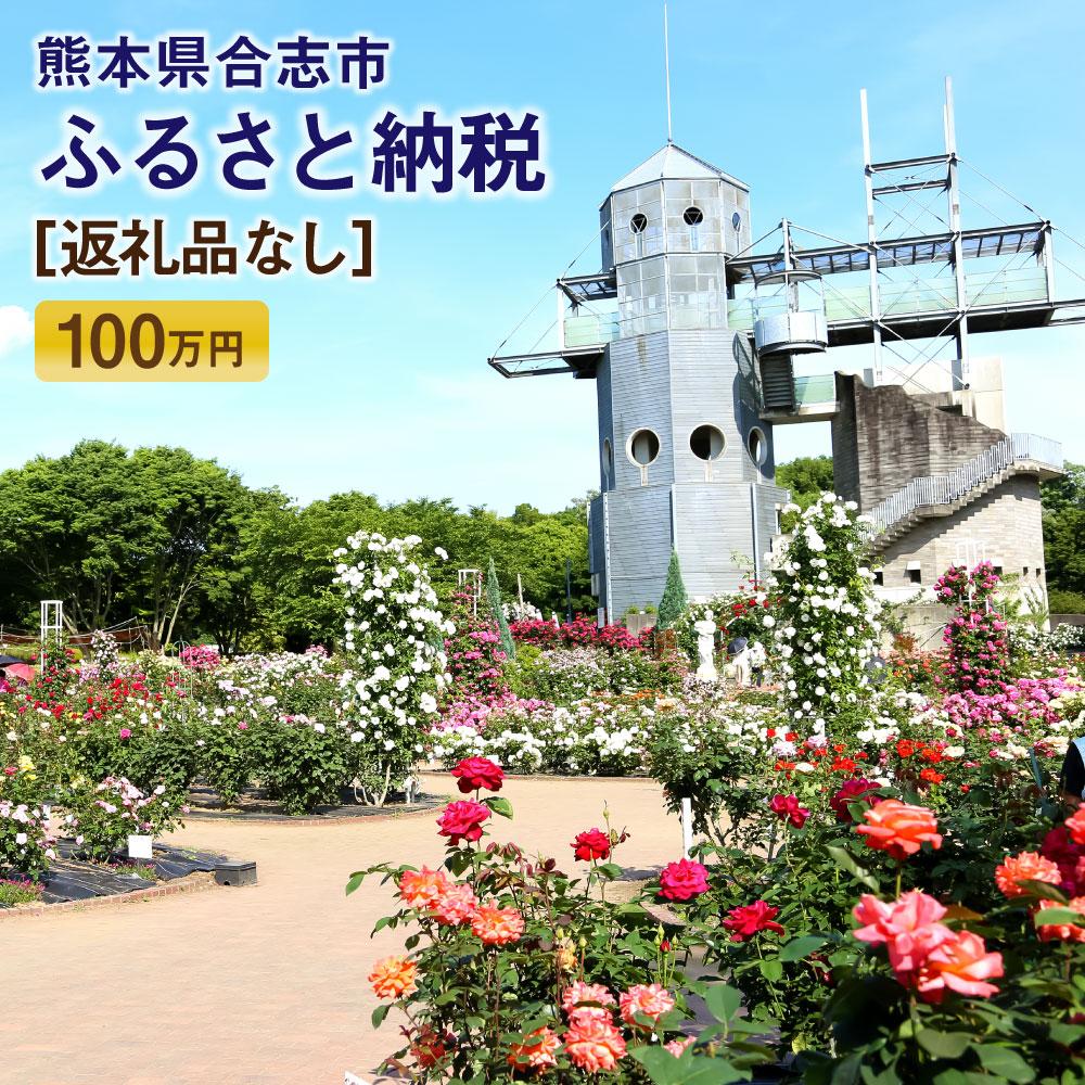 【ふるさと納税】合志市への寄付(返礼品はありません) 熊本県 合志市 返礼品なし 1口 100万円