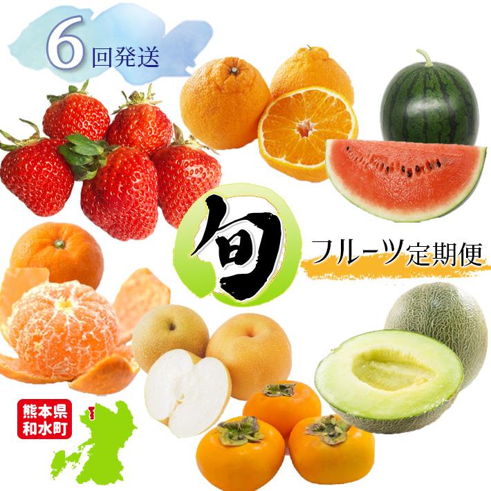 【ふるさと納税】【定期便】熊本人気フルーツ 和水町産 [旬な季節に合計6回発送]