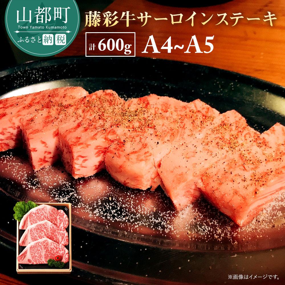【ふるさと納税】藤彩牛霜降りサーロイン(600g)
