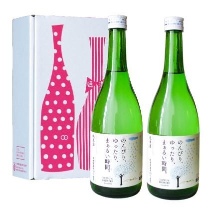 【ふるさと納税】通潤純米酒 720ml2本セット 【日本酒・お酒・詰め合わせ】