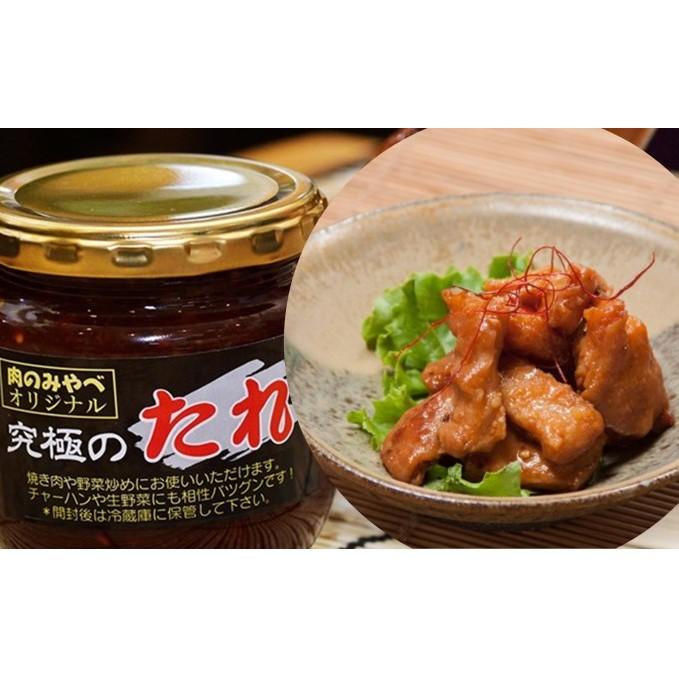 【ふるさと納税】みやべのホルモンセット 【お肉・豚肉・調味料・直腸・たれ付き】