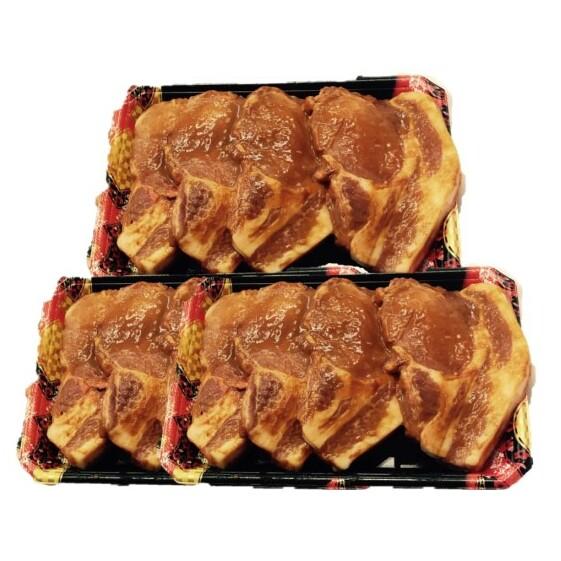【ふるさと納税】JAイチオシ!豚肉「熊本のりんどうポーク味噌豚」10枚セット 【お肉・豚肉・肉の加工品・味噌・みそ】