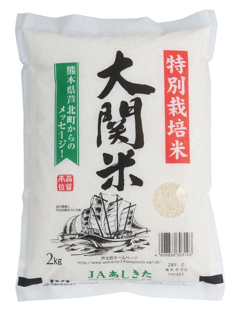 【ふるさと納税】大関米5kg×2袋【30年度産】熊本県産 ヒノヒカリ
