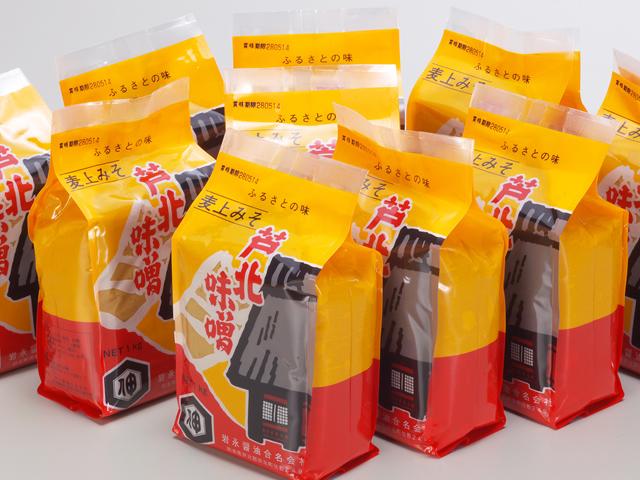 【ふるさと納税】芦北味噌10kg M-0(麦みそ)