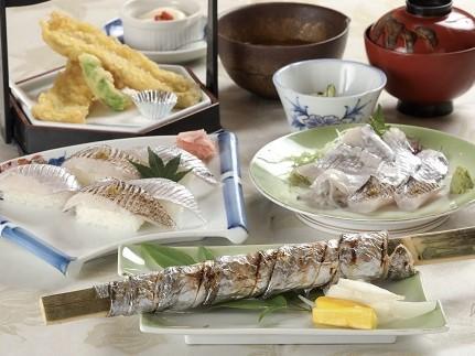 【ふるさと納税】野坂屋旅館 田浦銀太刀コース食事券(1名様)