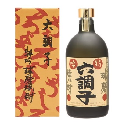 【ふるさと納税】特吟六調子35度 【お酒/酒/焼酎】