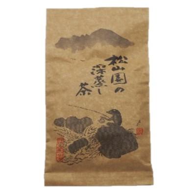 【ふるさと納税】松山園の深蒸し茶 【飲料類/お茶類/茶葉】