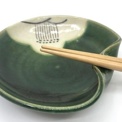 【ふるさと納税】箸付け4枚セット 【食器・民芸品・工芸品】