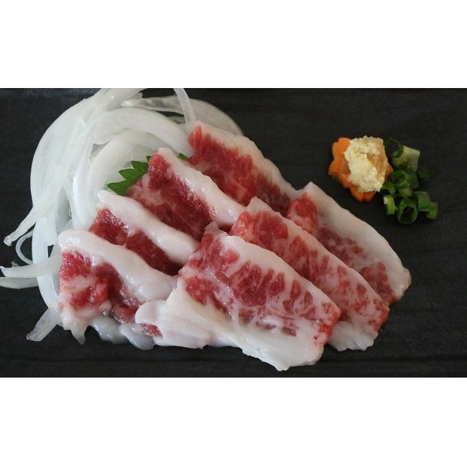 【ふるさと納税】上霜降り馬刺し200g 【お肉・牛肉・焼肉・バーベキュー】