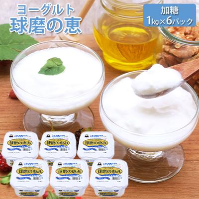 商品追加値下げ在庫復活 熊本県錦町 ふるさと納税 球磨の恵ヨーグルト 1kg×6パック ヨーグルト シュガー 乳製品 砂糖 公式サイト