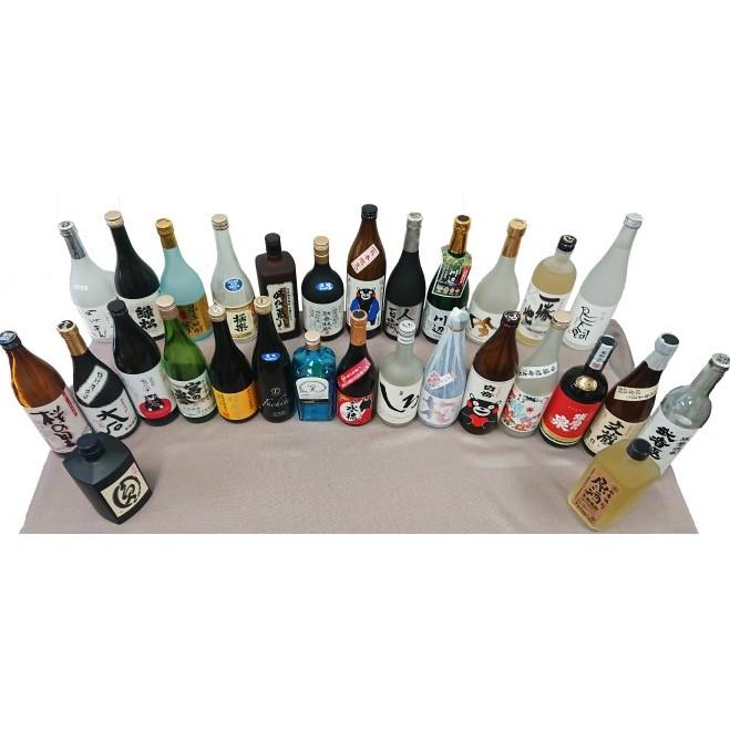 【ふるさと納税】本格焼酎【球磨焼酎全27蔵元と原酒2本セット】(全29本) 【お酒・酒・焼酎】