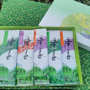 【ふるさと納税】【お徳用】玉緑茶(自園自製) 新茶 100g×5袋 ※5月より順次発送