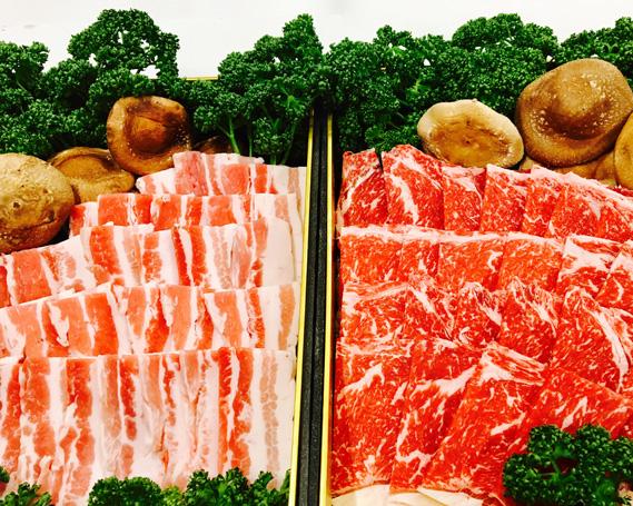 【ふるさと納税】No.047 くまもとあか牛 豪華バラエティセット / 牛肉 ロース焼肉 ハンバーグ メンチカツ 豚バラ焼肉 熊本県 特産