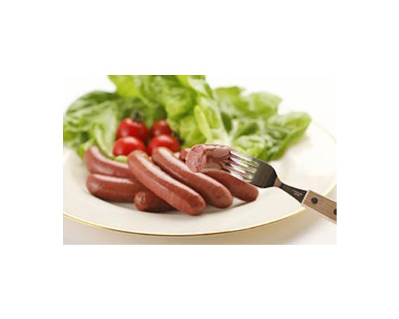 【ふるさと納税】No.105 じびンナー 鹿肉100%ウインナー大容量セット / ジビエ ウィンナー ソーセージ 熊本県 特産