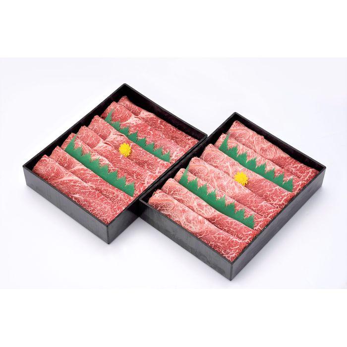 【ふるさと納税】~百年の恵み~おおいた和牛すき焼・しゃぶしゃぶ1.4kg